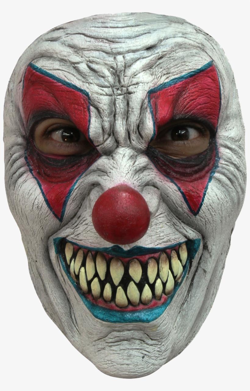 Froglord Maskeradmask Evil Clown Ansikte, transparent png #7851011