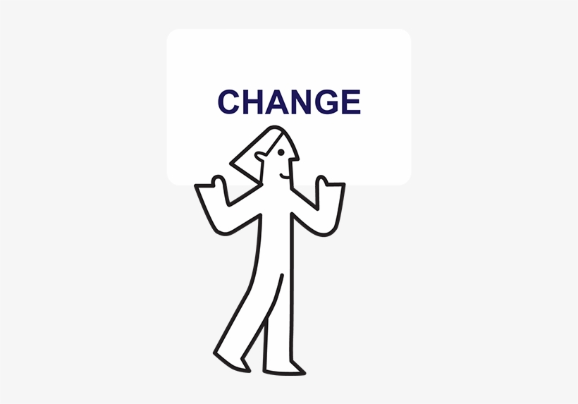 Anyone Here Can Improve What We Do And How We Do It - Sign, transparent png #7858655