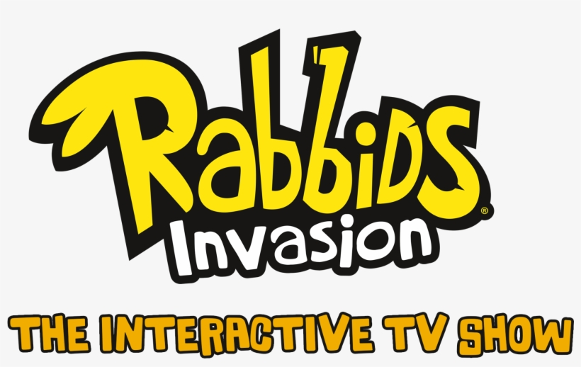 The Interactive Tv Show Is Coming To Xbox One, Xbox - Rabbids Invasion The Interactive Tv Show Logo, transparent png #7860016