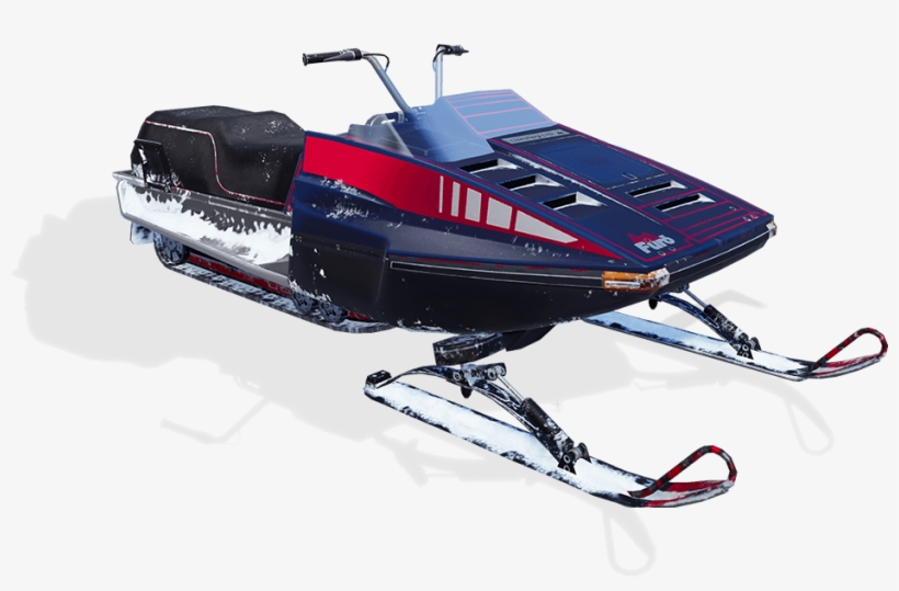 Amuse Others By Drifting With A Snowmobile - Snowmobile Pubg Mobile, transparent png #7861998