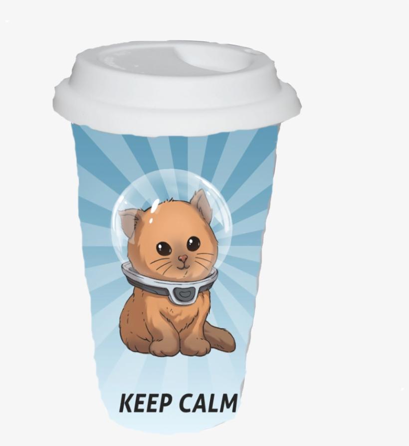 Starbucks - Keep Calm Subnautica Poster, transparent png #7863939