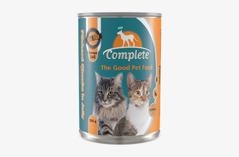 Cat Tin Food - Domestic Short-haired Cat, transparent png #7866017