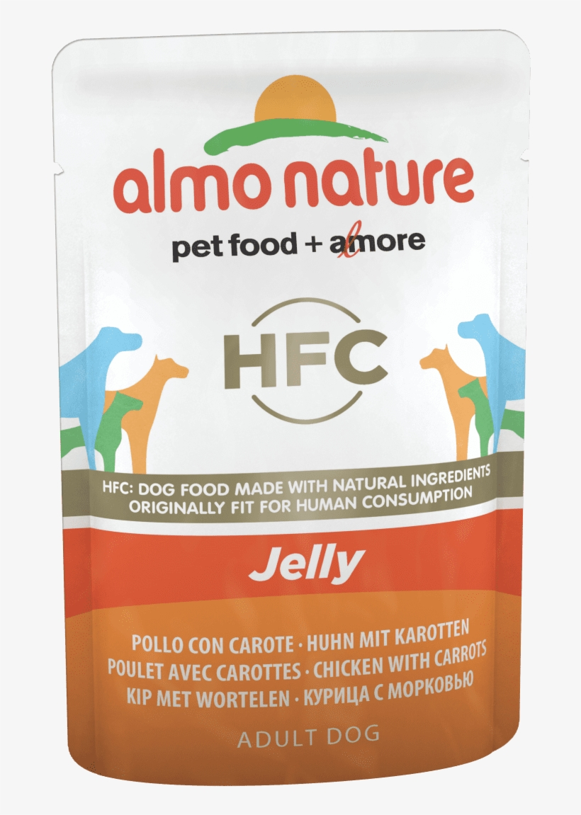 Dog Hfc Jelly 70g - Wet Dog Food Almo Nature Classic Chicken And Tuna, transparent png #7867728
