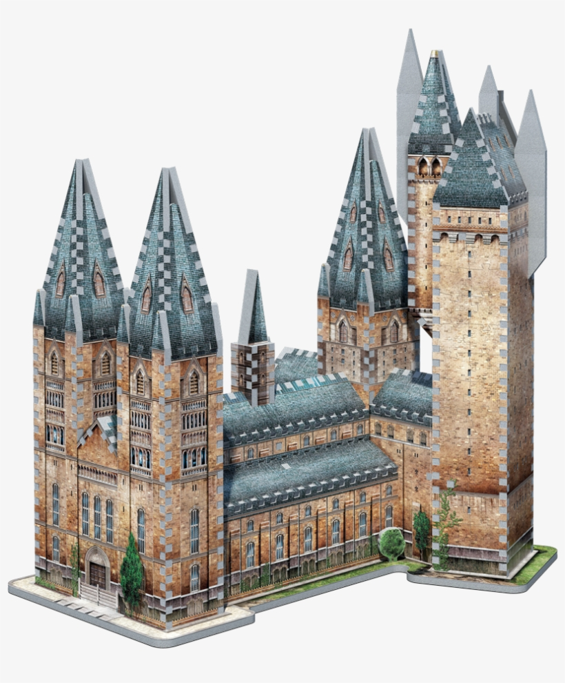 Journey Into The Magical World Of Harry Potter™ And - Wrebbit 3d Puzzle Harry Potter, transparent png #7868242