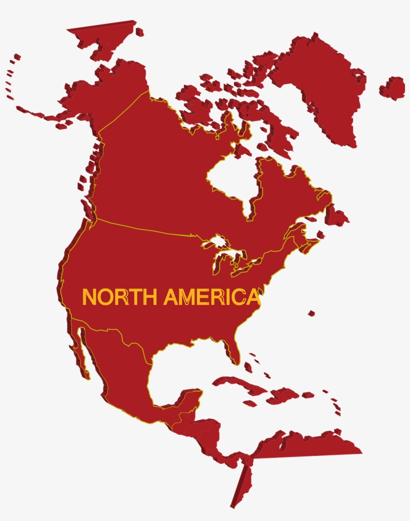 North America Continent Clipart, transparent png #7868388