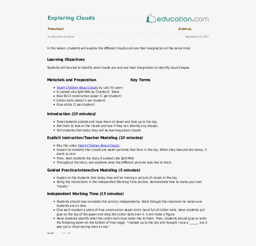 Preschool Earth & Space Science Resources - Lesson Plan On Living And Non Living Things, transparent png #7868986
