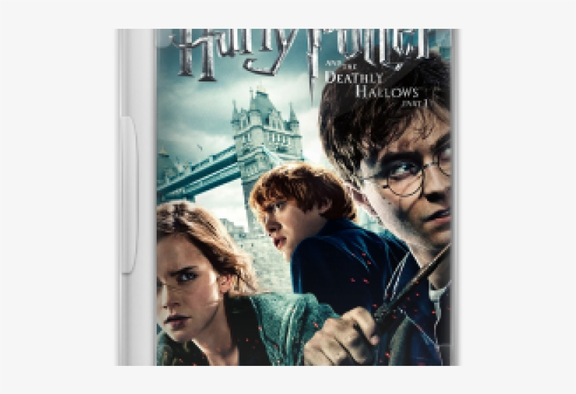Harry Potter And The Deathly Hallows Part 1 Blu Ray, transparent png #7869147