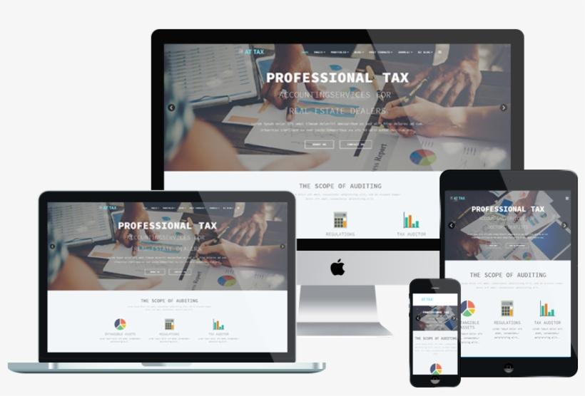At Tax Free Responsive Tax Website Templates - Hotel Booking Joomla Template, transparent png #7871050