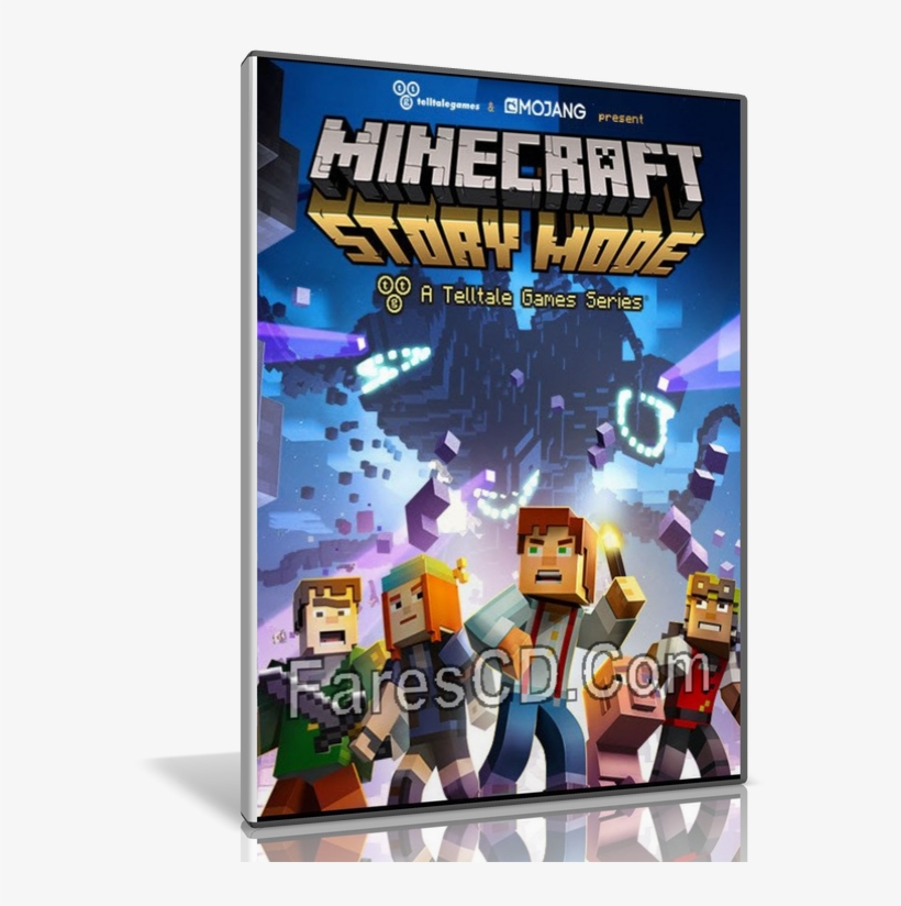 Minecraft Story Mode Poster, transparent png #7872792