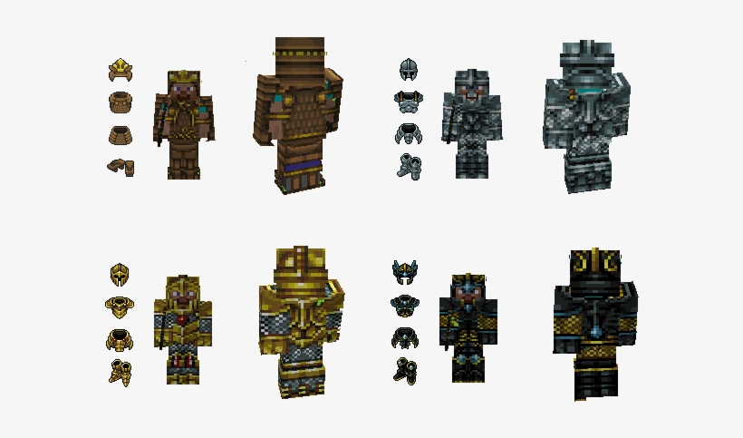 Okay I Lied I Actually Finished All The Armors This - Minecraft Samurai Armor Resource Pack, transparent png #7873058