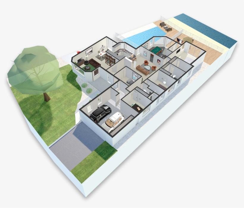Get Your 3d Model Today - Real Estate 3d Model Png, transparent png #7876421