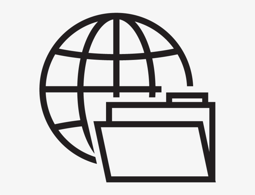 Supply Chain Solutions - Simple Globe Icon - Free