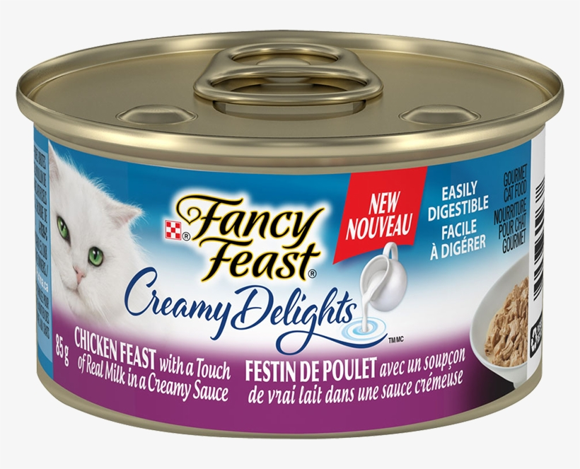 Purina® Fancy Feast® Creamy Delights™ Chicken Feast - Convenience Food, transparent png #7877516