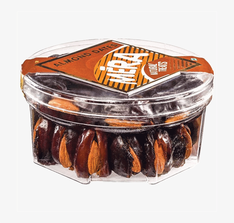 Mera Natural Treats Almond Dates - Date Palm, transparent png #7877631