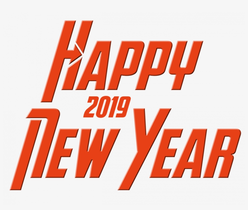 Happy New Year 2019 Picsart Background Hd Wallpaper - Happy New Year 2019 Png Hd, transparent png #7886687