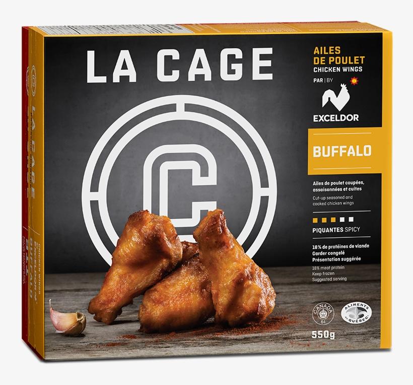 Chicken Wings - 911 - Buffalo - Crispy Fried Chicken, transparent png #7890295