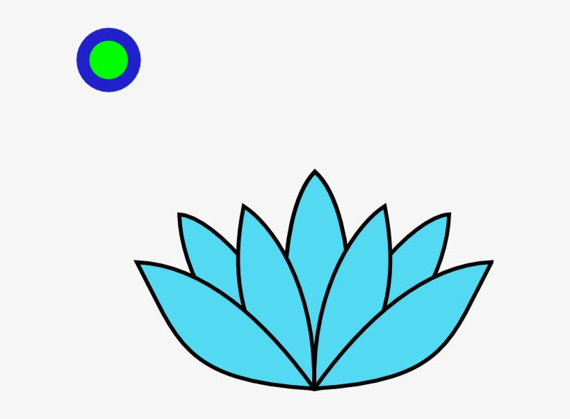 Lotus Flower Easy Drawing Free Transparent Png Download Pngkey