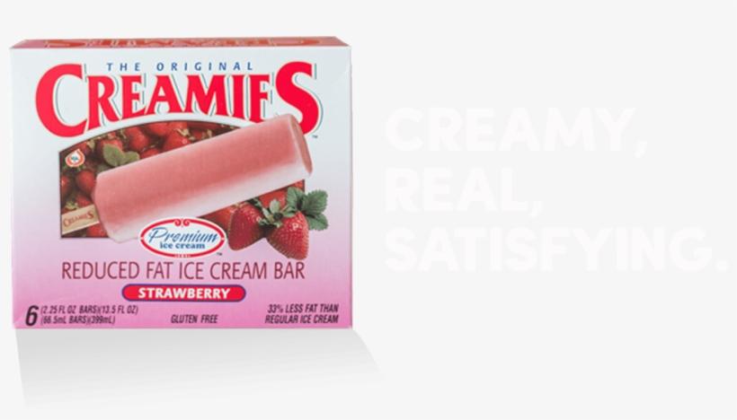 Frozen Yogurt And Strawberry Ice Cream Flavor - Strawberry, transparent png #7894735