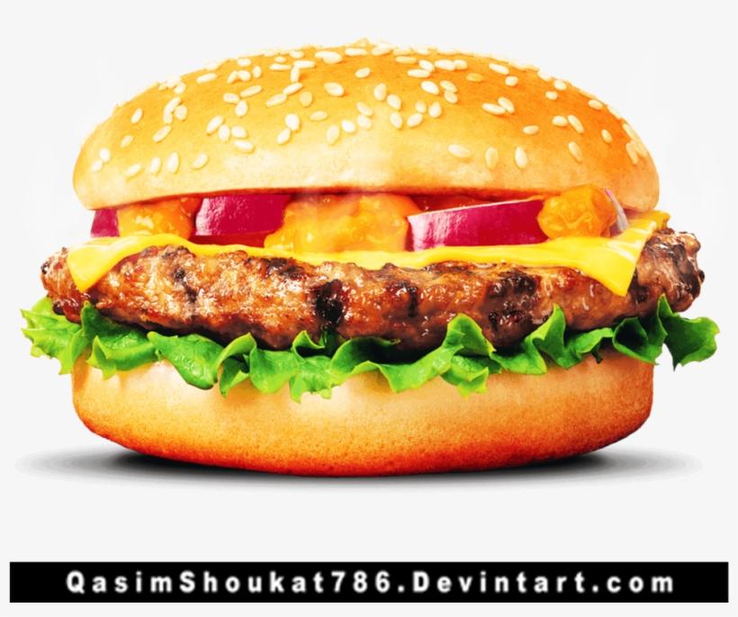Cheese Burger Png - Easy Burger Recipe In Urdu, transparent png #790783