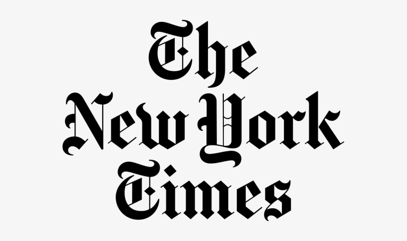 New York Times Logo - New York Times Png - Free Transparent