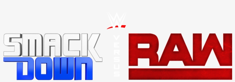 New Raw Logo Png - Wwe Smackdown Vs Raw Logo, transparent png #791870