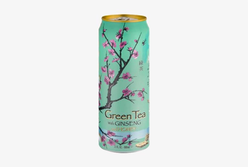 Arizona Green Tea Png - Arizona Green Tea With Ginseng & Honey, transparent png #792212