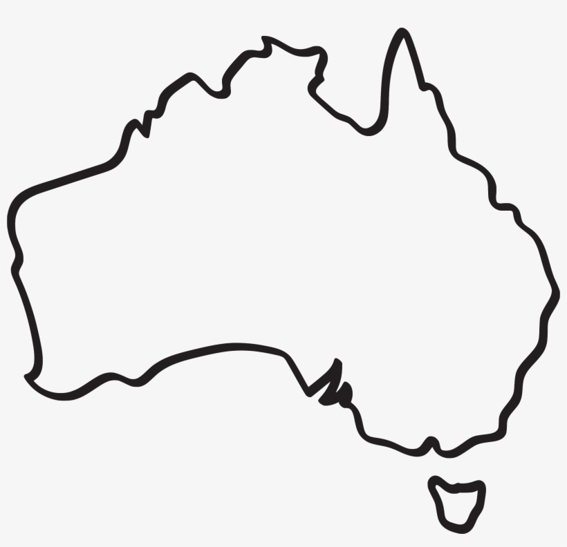 Australia Map Transparent.Sketch Of Australia Map Free Transparent Png Download Pngkey