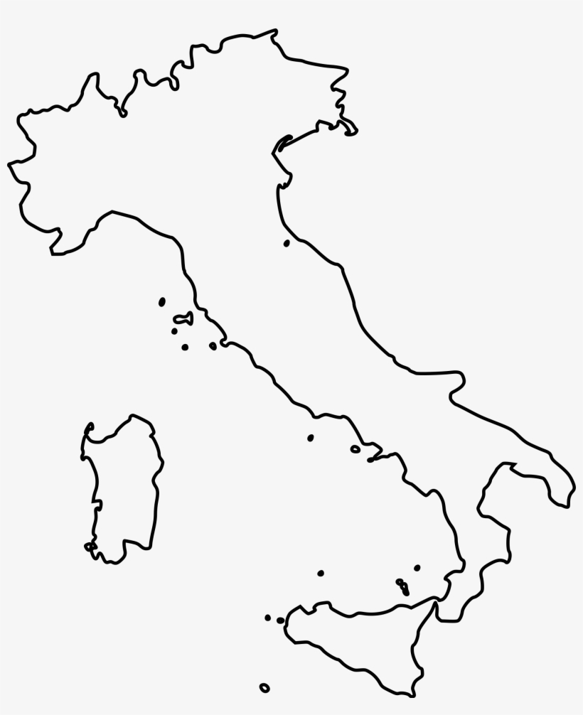 Map Of Italy Outline.Map Coloring Pages Fresh Outline Map Italy Printable Italy Map