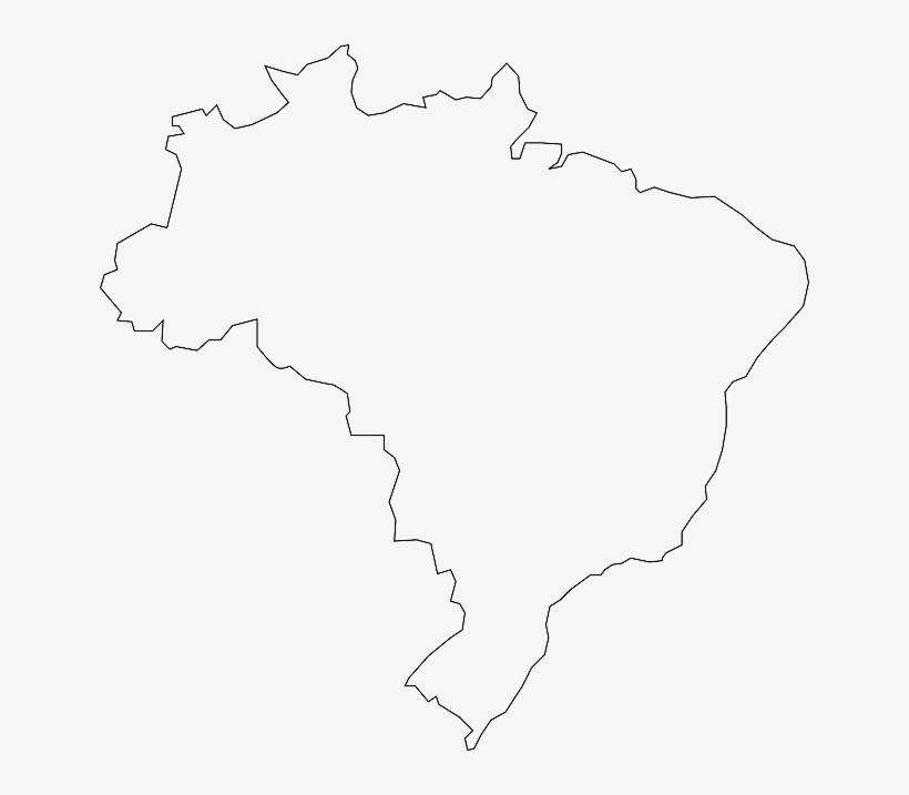 blank map of brazil Brazil Country Map Geography Outline Brazilian Blank Brazil blank map of brazil