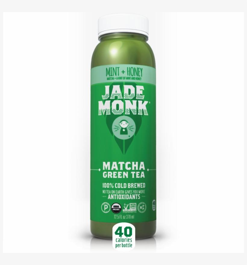 Mint Honey Matcha Tea - Jade Monk Green Tea Powder, Simply Matcha - 0.10 Oz, transparent png #793264