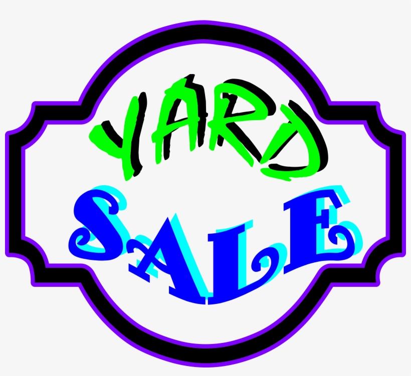 Big Image - Yard Sale Sign Clip Art, transparent png #793561