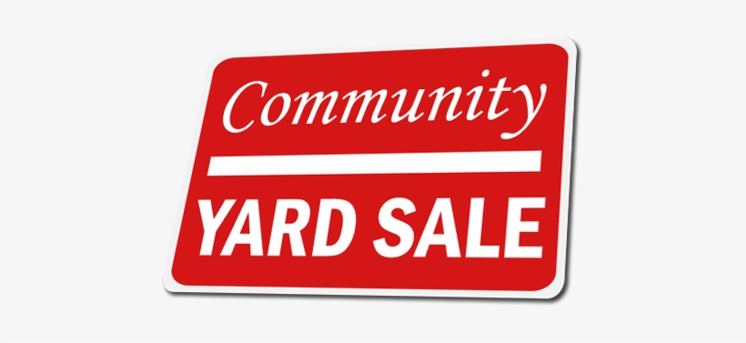 How To Plan A Successful Yard Sale - Garage Sale, transparent png #793566