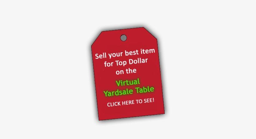 Post Item For Sale - Garage Sale, transparent png #793856