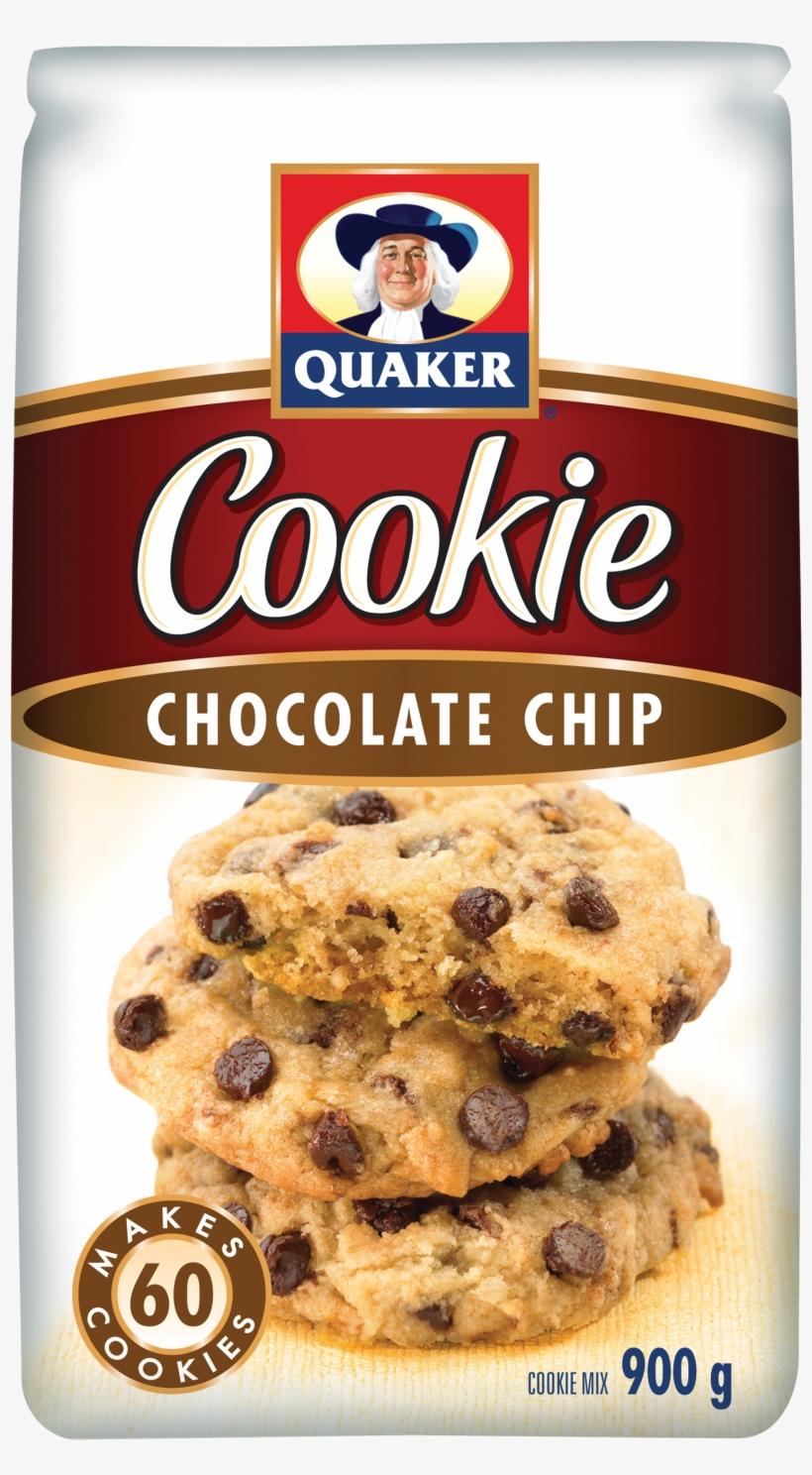 Quaker® Chocolate Chip Cookie Mix - Quaker Cookie Chocolate Chip, transparent png #794052