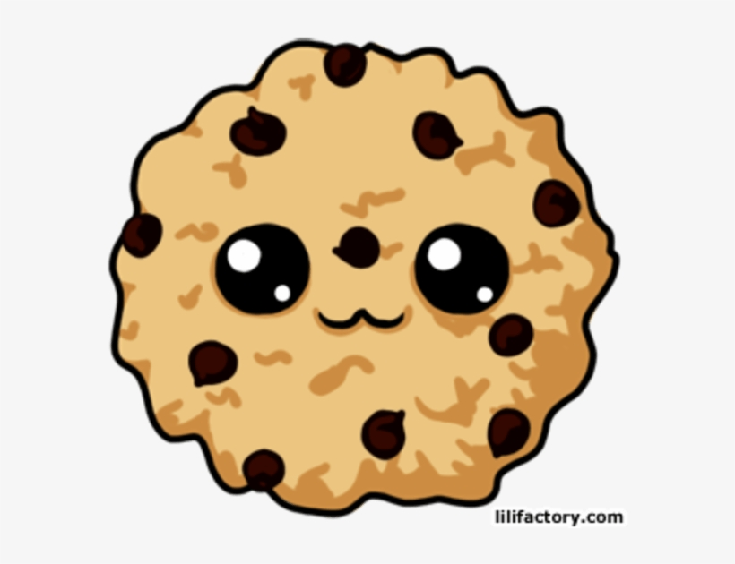 Pin Bitten Chocolate Chip Cookies Clipart - Animated Cute Cookies, transparent png #794093