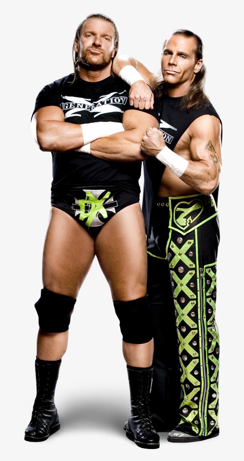 Shawn Michaels And Triple H Dx - D Generation X Png, transparent png #794467