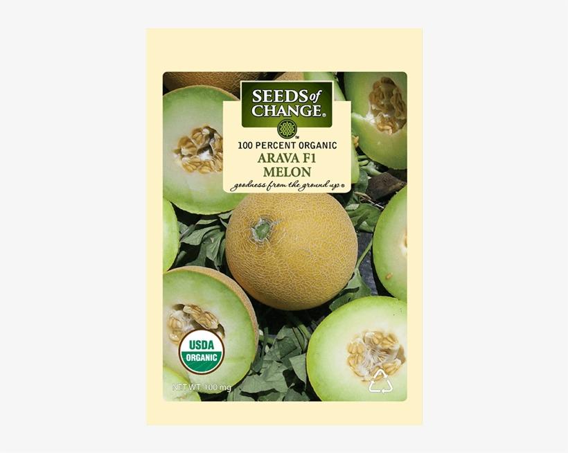 Organic Arava F-1 Melon Seeds - Seeds Of Change 21076 Organic Zesty Cln Quinoa Blend, transparent png #795228
