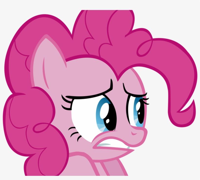 Pinkie Pie By Svezate On Deviantart - Mlp Pinkie Pie Scared, transparent png #795508