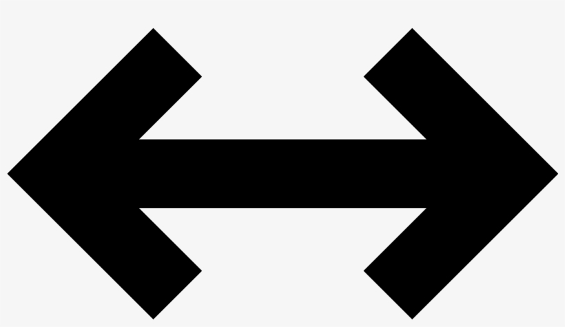 Open - Left And Right Arrow Symbol, transparent png #796450