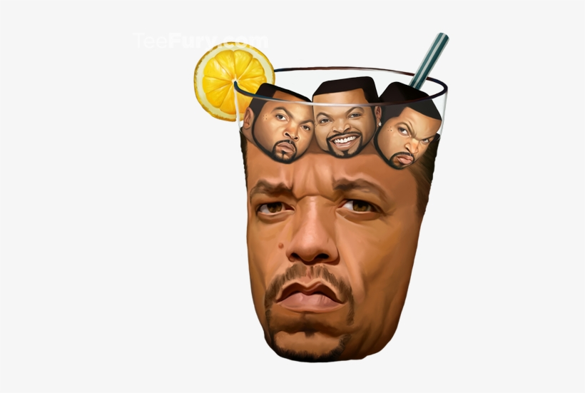 Ice T With Ice Cubes - Ice T, transparent png #798168