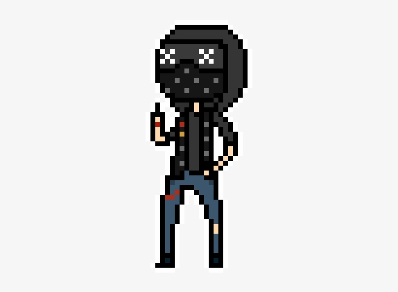 So I Made Wrench From Watch Dogs 2 In A Ministrife - Watch Dogs 2 Pixel Art, transparent png #798512