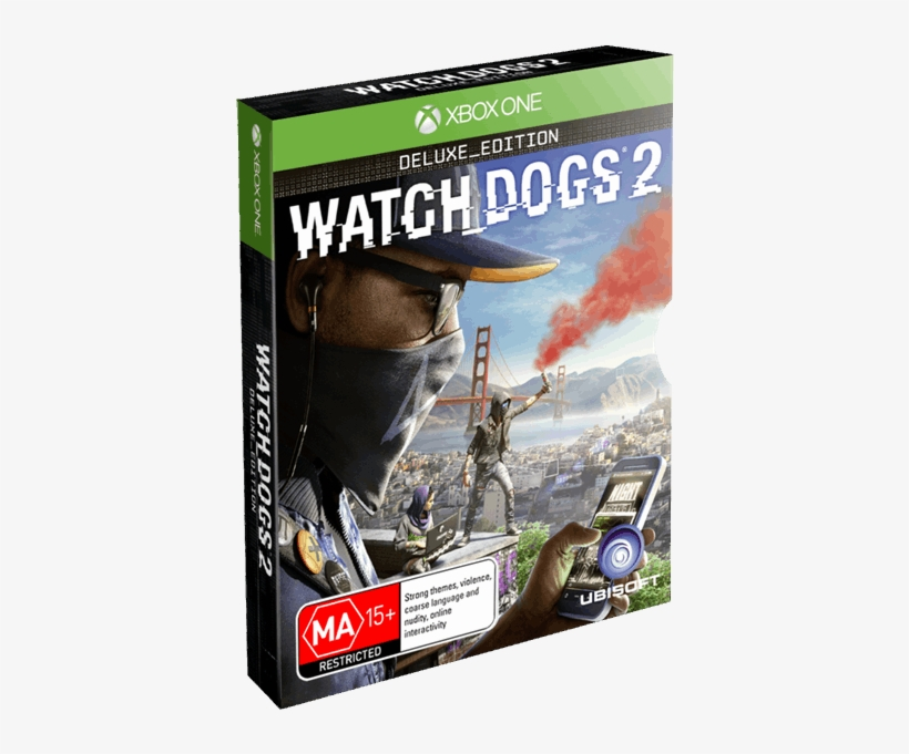 Watch Dogs 2 Ps4 Deluxe Edition, transparent png #798819