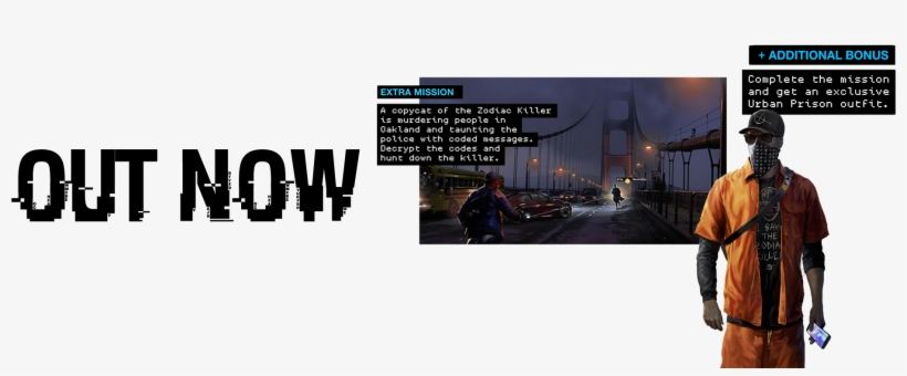 Watch Dogs - Watch Dogs 2 Uplay Rewards - Free Transparent