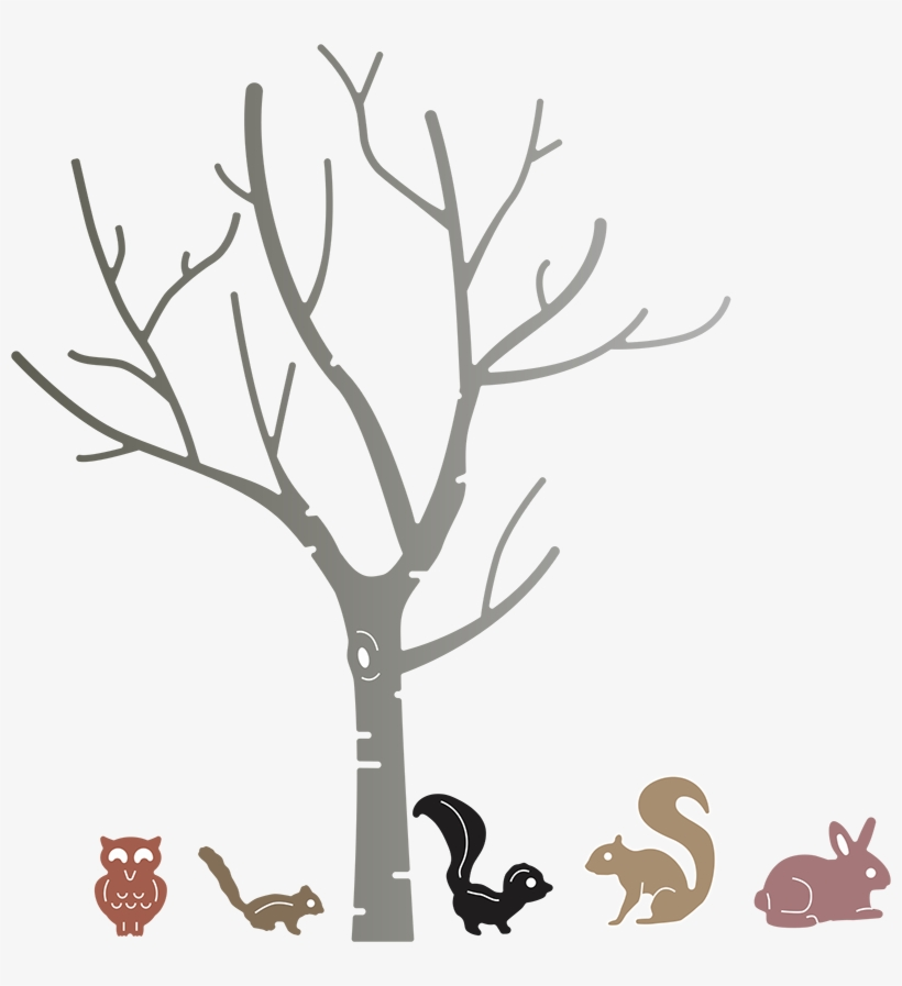 Cute Tree Png Download - Single Birch Tree Without Leaves, transparent png #799328