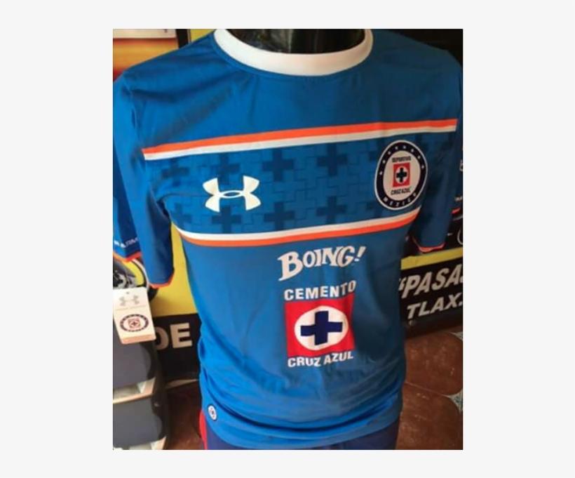 Filtran Supuesta Nueva Jersey Del Cruz Azul - Playera Cruz Azul 2016, transparent png #7909151