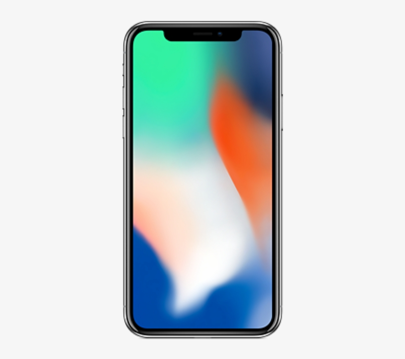 Iphone X Riyadh 64gb Silver - Iphone X, transparent png #7910691