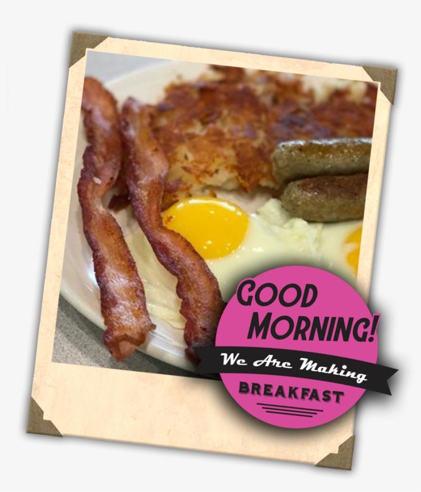 Breakfast Goodmorning - Fried Egg, transparent png #7918115