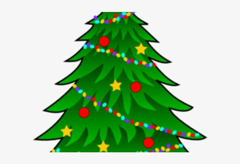 Bulb Clipart Christmas Tree Light - Tree Christmas Clip Art, transparent png #7934277