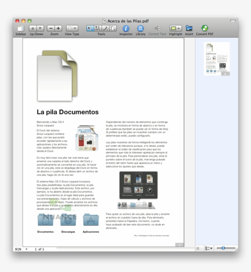 Nuance Pdf Converter - Mac Os X Lion - Free Transparent PNG Download
