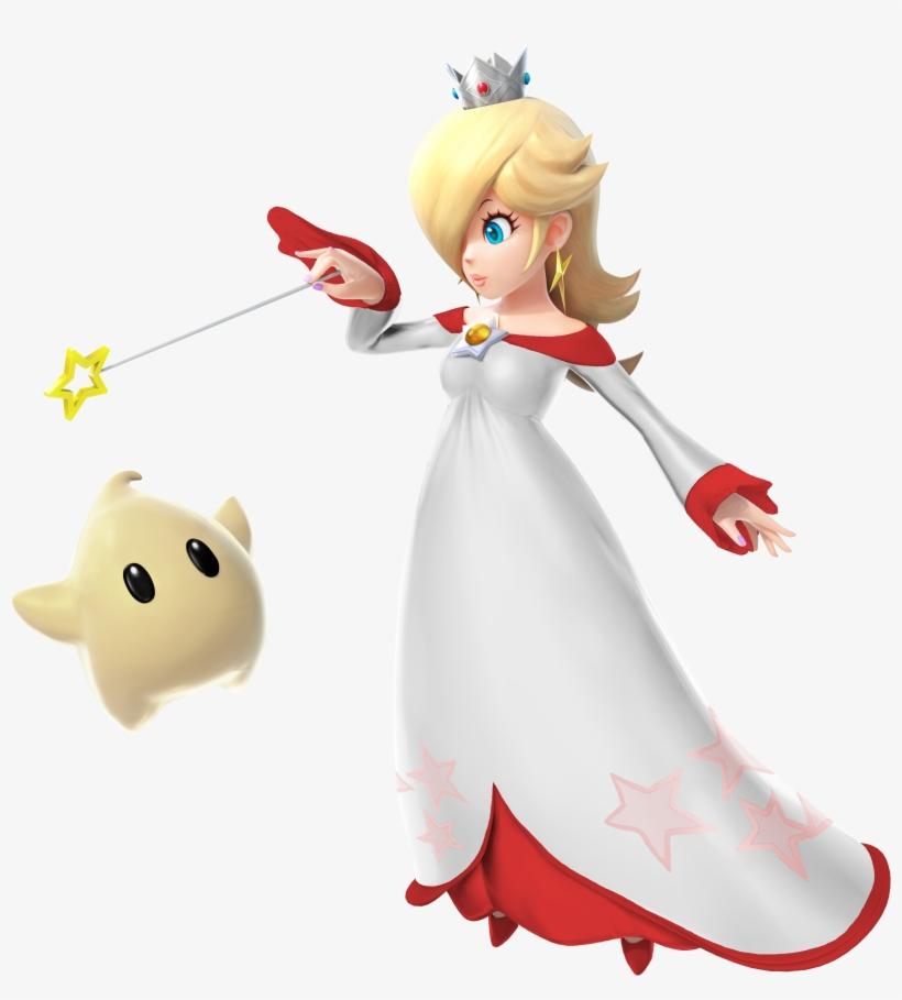 Super Smash Bros - Super Smash Bros Red Rosalina, transparent png #7945082